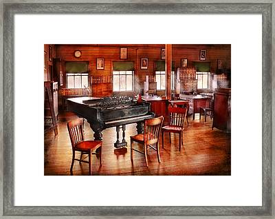 Music - Piano - The Grand Piano Framed Print