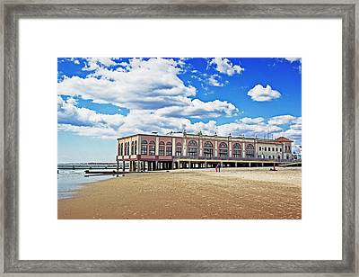 Music Pier Framed Print by Tom Gari Gallery-Three-Photography