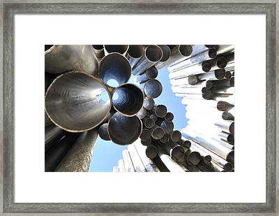 Music Pipes Framed Print by Frederico Borges