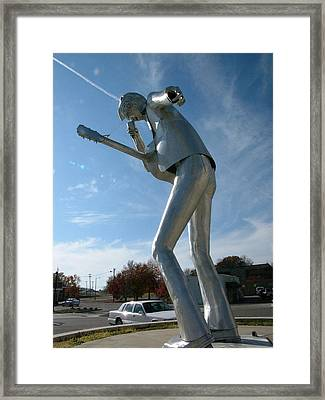 Music-sculpture-2 Framed Print