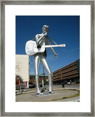 Music-sculpture Framed Print