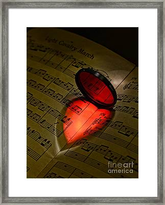 Music - The Love Of Music Part 2 Framed Print by Paul Ward