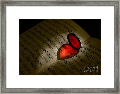 Music - The Love Of Music Framed Print by Paul Ward