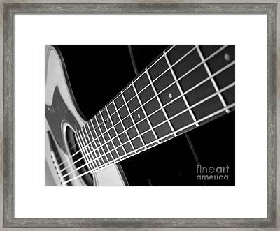 Music To My Soul Framed Print by Andrea Anderegg