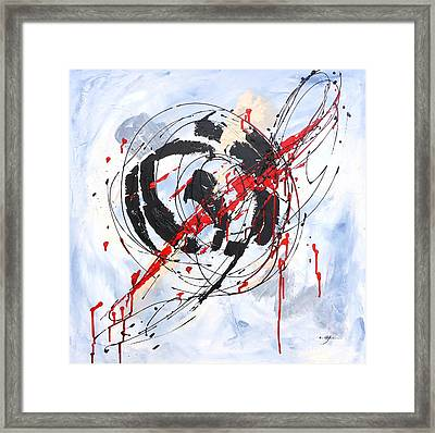 Musical Abstract 002 Framed Print