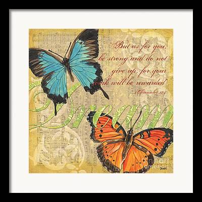 Wildlife Mixed Media Framed Prints