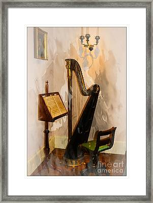 Musical Corner Framed Print by Marcia Lee Jones