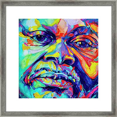 Musical Genuis Framed Print by Derrick Higgins