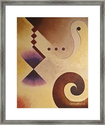 Musical Journey I Framed Print