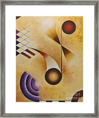 Musical Journey Iv Framed Print