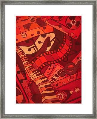 Musical Movements Framed Print by Chelsea Allen
