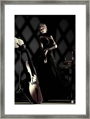 Musical Muse Framed Print