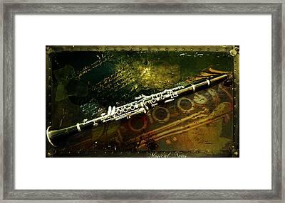 Musical Notes Framed Print