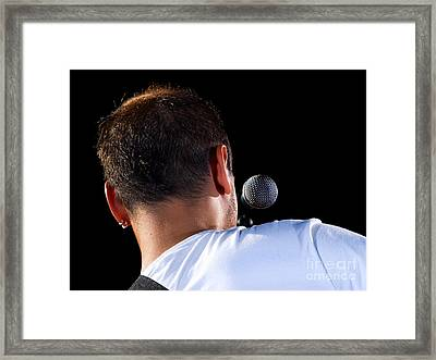 Musical Performer Framed Print by Sinisa Botas