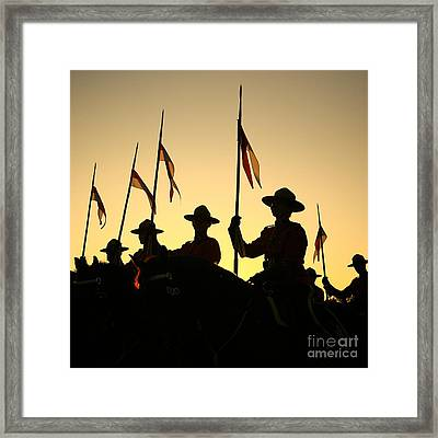 Musical Ride Framed Print