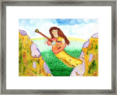 Musical Spirit 11 Framed Print