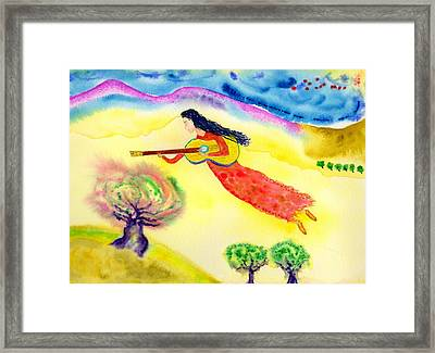 Musical Spirit 12 Framed Print