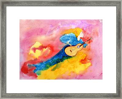 Musical Spirit 19 Framed Print