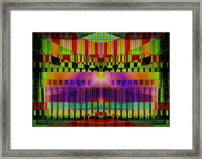 Private Musical Stage  Framed Print