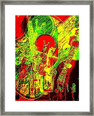 Musically Inclined Framed Print by Larry E Lamb