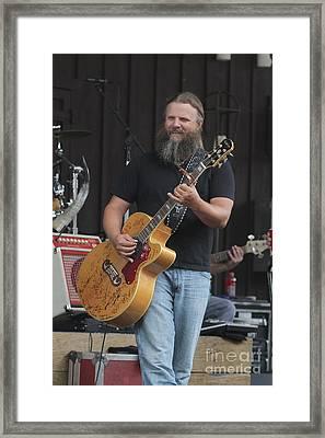 Musician Jamey Johnson Framed Print by Concert Photos