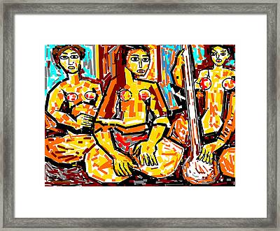 Musicians Framed Print by Anand Swaroop Manchiraju