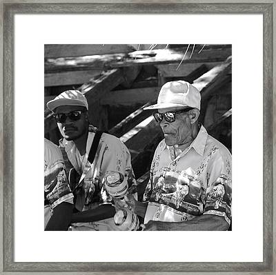 The Music Never Stops Labadee Haiti Framed Print by David Coleman