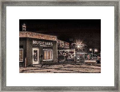 Musicians Union Framed Print