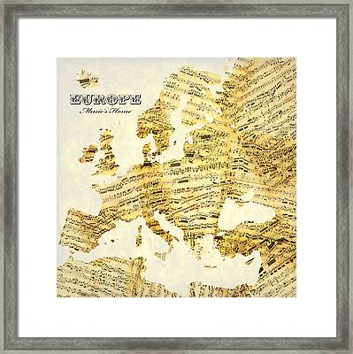 Music's Home Framed Print by Gary Grayson