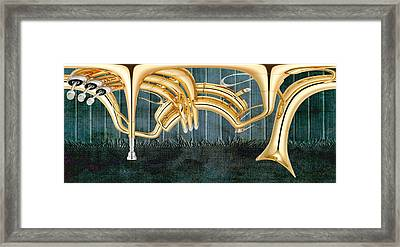 Musikalis - D11bt2 Framed Print by Variance Collections