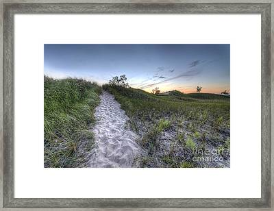 Muskegon State Park Framed Print by Twenty Two North Photography