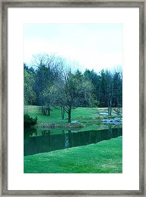 Framed Print featuring the photograph Muskoka by Paula Brown