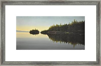 Muskoka Solitude Framed Print by Kenneth M  Kirsch