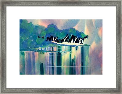 Musky Point Framed Print by William Duncan