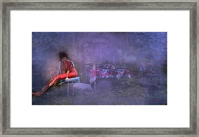 Must Have Been A Dream Framed Print by Kylie Sabra