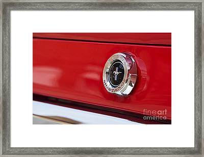 Mustang Abstract Framed Print by Tim Gainey