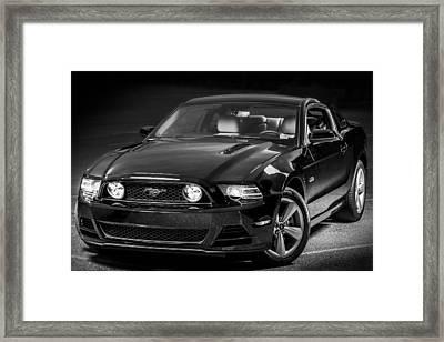 Mustang Gt Framed Print