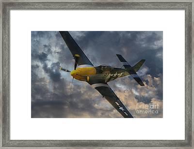 Mustang Tribute Framed Print by J Biggadike