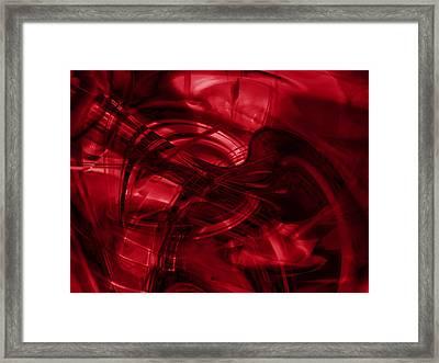 Mustang_dang A Dang Framed Print