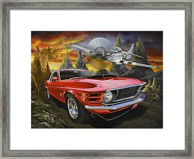 Mustangs 3 Framed Print