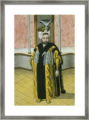 Mustapha Iv Sultan 1807-8, From A Framed Print by John Young