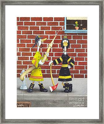 Muster... Framed Print by Will Bullas