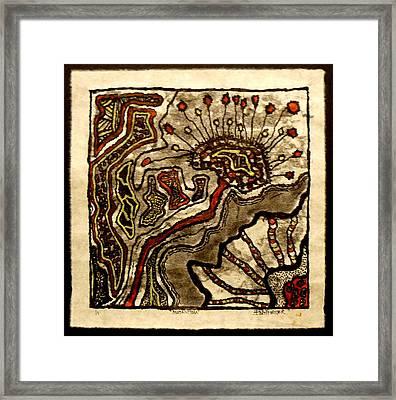 Mutantism Framed Print by Buck Buchheister