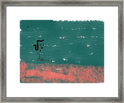 Mute I Framed Print