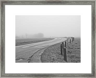 Mute Landscape Framed Print by Odd Jeppesen