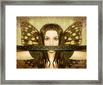 Framed Print featuring the photograph Mute Witness by Heather King