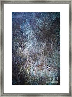 Muted Blues Framed Print