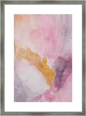 Muted Contempo Framed Print by Nola James