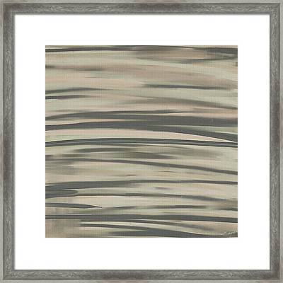 Muted Shades Framed Print