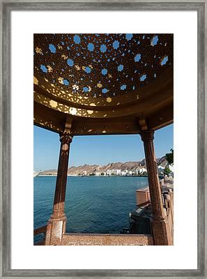Mutrah, Muscat, Oman Framed Print by Sergio Pitamitz